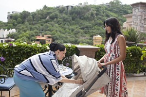 Lorena and Divya on Royal Pains