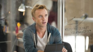 Tom Felton as Erich Blunt in Murder in the First